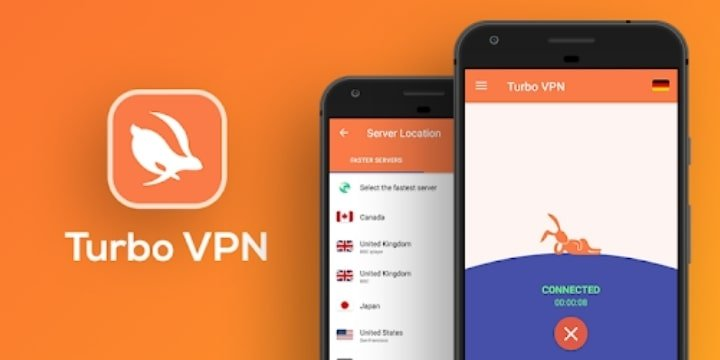 Turbo VPN Mod Apk v3.6.5.1 (Premium Unlocked)