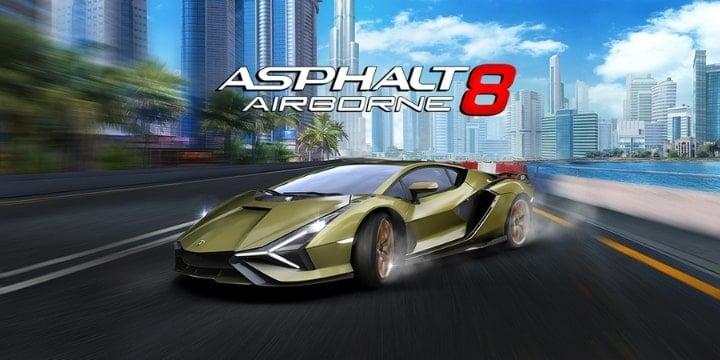Asphalt 8 Mod Apk 5.9.0n (Unlimited Money)