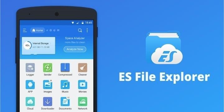 ES File Explorer Pro Apk v4.2.7.1 (Premium Unlocked)