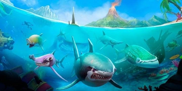Hungry Shark World Mod Apk v4.4.2 (Unlimited Money)