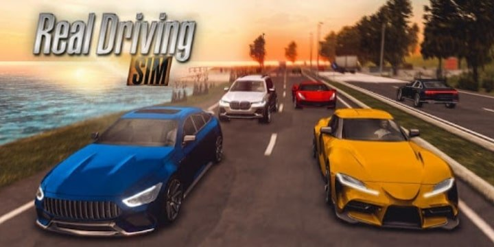 Real Driving Sim Mod Apk v4.8 (All Cars Unlocked)
