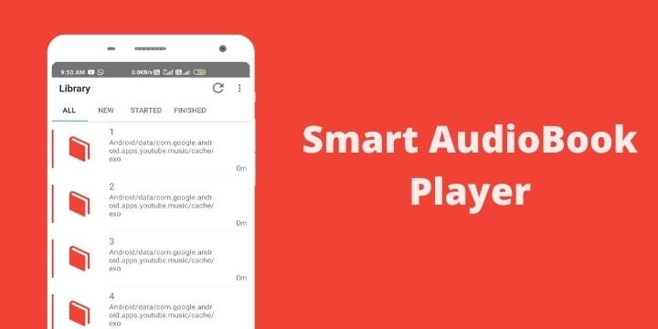 Smart AudioBook Player Mod Apk v8.1.5 (Premium Unlocked)