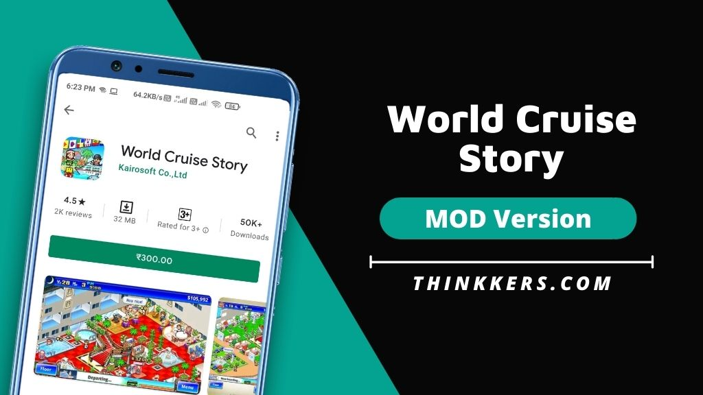 World Cruise Story Mod Apk v2.2.2 (Unlimited Money)