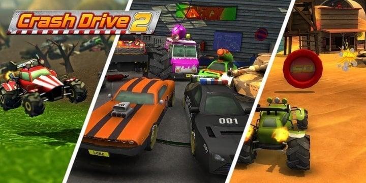 Crash Drive 2 Mod Apk v3.70 (Unlimited Money)
