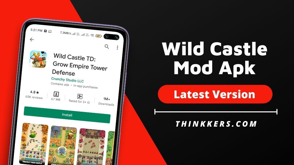 Wild Castle TD Mod Apk v1.2.24 (Unlimited Money)