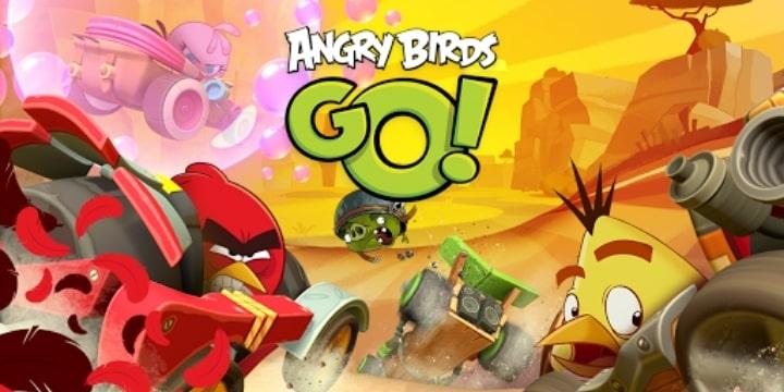 Angry Birds Go! Mod Apk v2.9.2 (Unlimited Money)