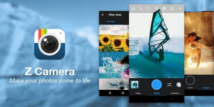 Z Camera Pro Apk v4.54 (VIP Unlocked)