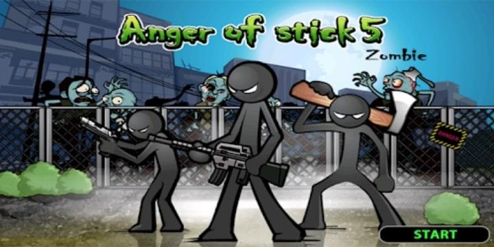 Anger of Stick 5 Mod Apk v1.1.54 (Unlimited Money)